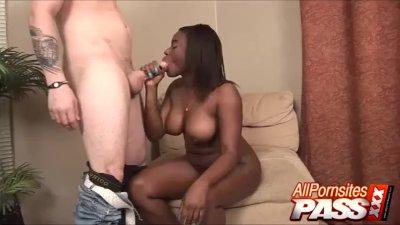 sexy ebony asshole toying