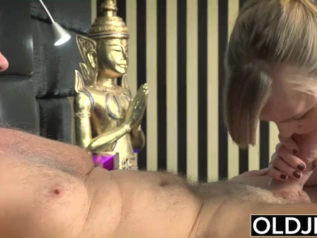 Her Young Pussy Gets Fucked By Old Man and Gets Cum On Tits ...